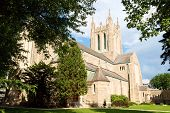 image of ascension  - Ascension of our Lord church is a Catholic Parish in Gothic style at Westmount a suburb of Montreal Quebec Canada - JPG