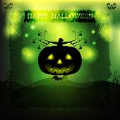 Постер, плакат: Halloween party invitation