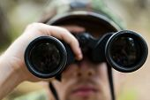 stock photo of observed  - hunting - JPG