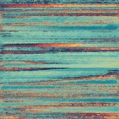 Grunge texture, distressed background. With orange, violet, blue patterns