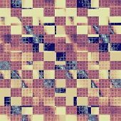 Grunge background with space for text or image. With yellow, brown, purple, blue patterns