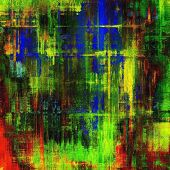 Abstract grunge background. With brown, red, green, blue patterns