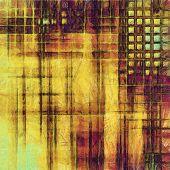 Grunge texture, Vintage background. With yellow, brown, orange, green patterns