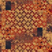 Grunge background with space for text or image. With yellow, brown, red, orange patterns