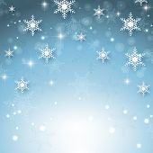 Christmas background with snowflake design