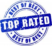 Top Rated Blue Stamp
