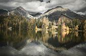Lake Strbske pleso, Slovakia