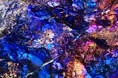 Chalcopyrite Rainbow Background