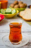 Healthy Breakfast With Tea