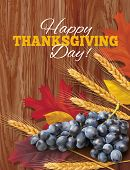 stock photo of thanksgiving  - Happy Thanksgiving background - JPG