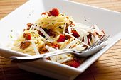 spaghetti with minced meat poster