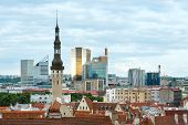 Tallinn City Summer View