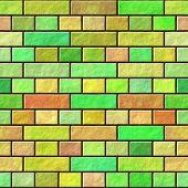 Brick Wall Seamless Generated Hires Texture
