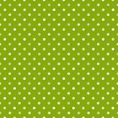 Green Textured Polka Dot Seamless Pattern