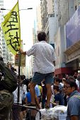 Umbrella Revolution In Mong Kok