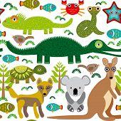 pic of alligator baby  - Animals Australia - JPG