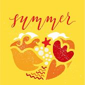 foto of gamma  - Postcard summer - JPG