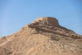 stock photo of zoroastrianism  - tower of silence Yazd Zoroastrian tradition considered a dead body to be nasu unclean - JPG
