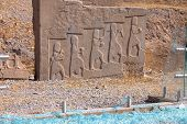 pic of xerxes  - Persepolis world heritage archeological site Persia  - JPG