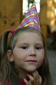 Child With Party Cap