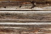 stock photo of driftwood fence  - Plank background - JPG