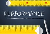 stock photo of benchmarking  - Measuring Business Performance Concept - JPG