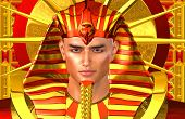 stock photo of pharaohs  - Egyptian Pharaoh Ramses - JPG