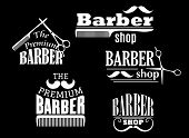 picture of barber  - Banners - JPG
