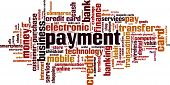 image of barter  - Payment word cloud concept - JPG