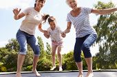 picture of bouncing  - Grandmother - JPG