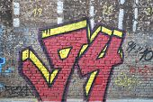Grungy 94 graffiti