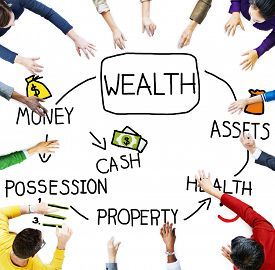 foto of possession  - Wealth Money Possession Investment Growth Concept - JPG