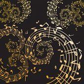 Music swirl