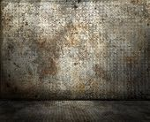 Grunge rusty interior, please check, more available