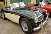 RATIBORICE, CZECH REPUBLIC - AUGUST 7: IX. Vintage car show - Austin Healey model from 1957. August