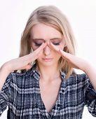 Sinus pressure pan or head pain
