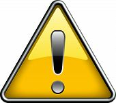 Ganarel warning icon symbol, icon