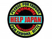 help japan label
