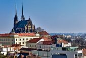 St. Peter And Paul Church In Brno