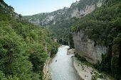 Tarn Schluchten Canyon in der Nähe von la malene