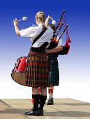 Drummer & Piper