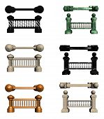 Balusters with columns