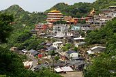 Jinguashi village , in Taiwan
