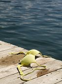 foto of skinny-dipping  - conceptual image of woman - JPG