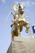 Joan Of Arc Statue