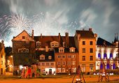 Square In Old Riga