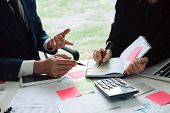 Close Up Business Man Reaching Out Sheet With Contract Agreement Proposing To Sign.insurance Agent A poster