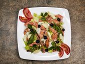 Red Salmon Salad