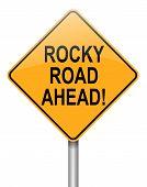Rocky Road Ahead.