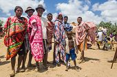 Group Of Malagasy Mens